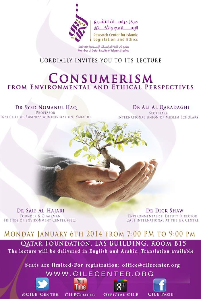 01/2014 Consumerism from Environmental and Ethical Perspectives