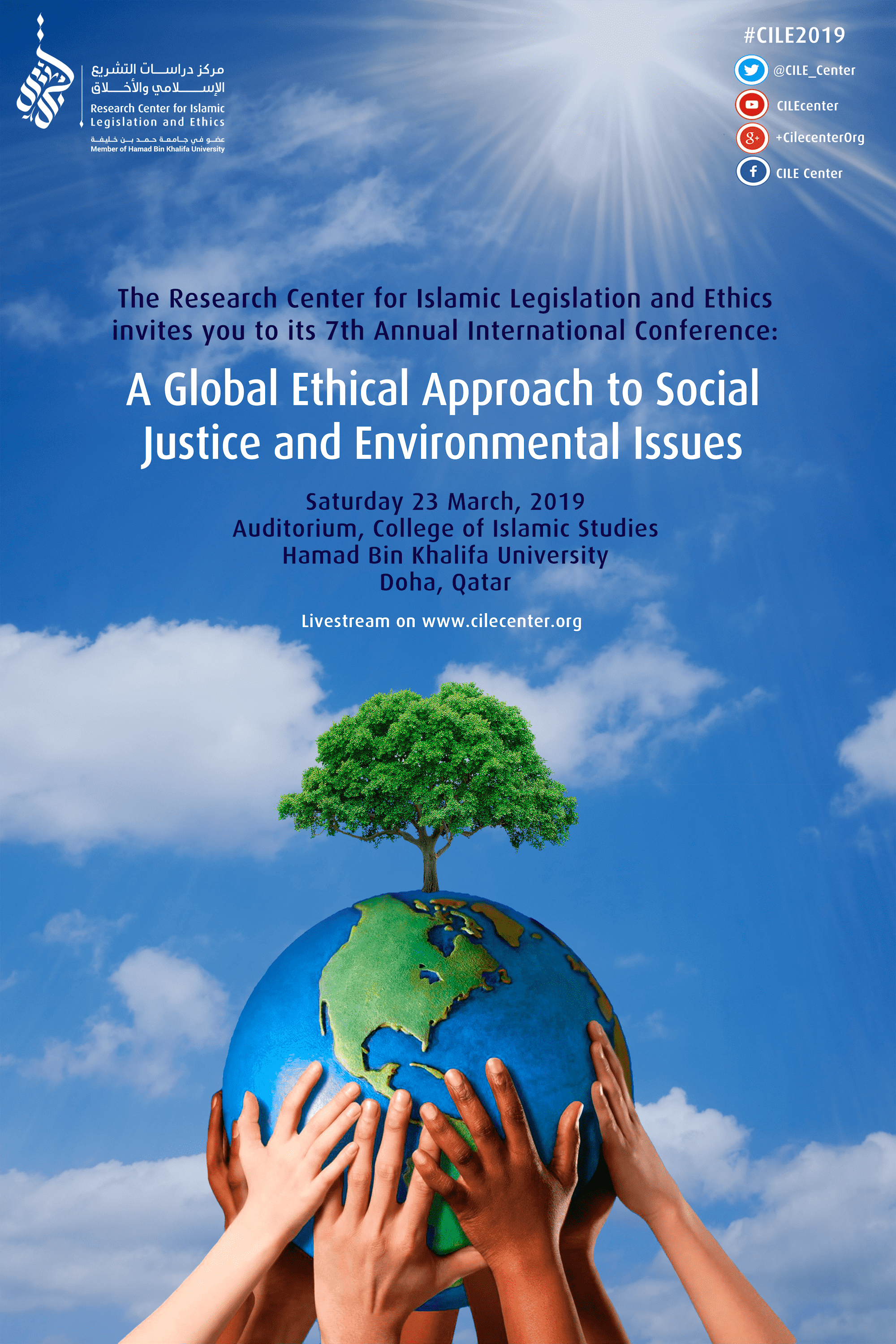 03/2019 A Global Ethical Approach to Social Justice and Environmental Issues #CILE2019