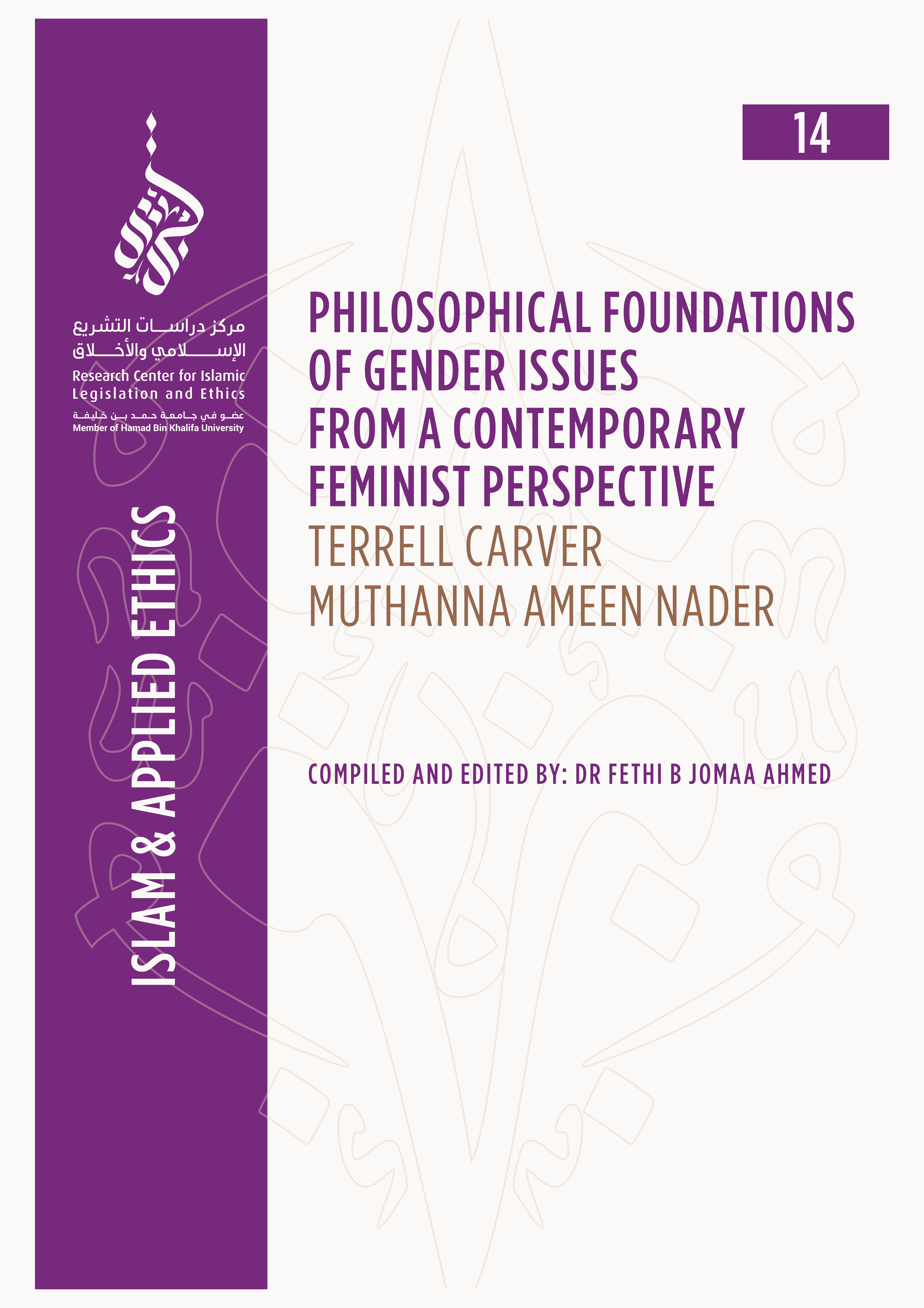 14/14 Philosophical Foundations of Gender Issues from a Contemporary Feminist Perspective