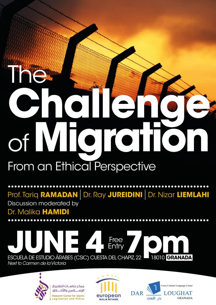 """The Challenge of Migration from an Ethical Perspective"" in Granada"