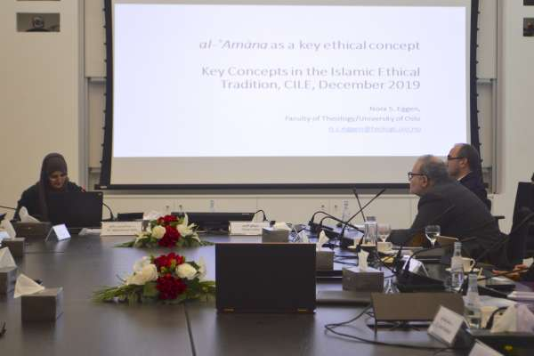12/2019 Seminar: Key Concepts in the Islamic Ethical Tradition: Semantics, Methods and Approaches