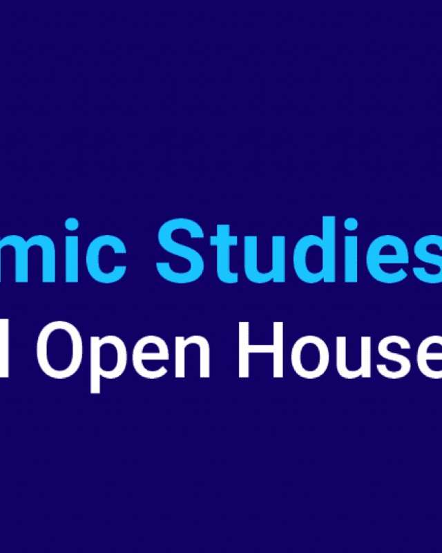 Virtual Open House - College of Islamic Studies