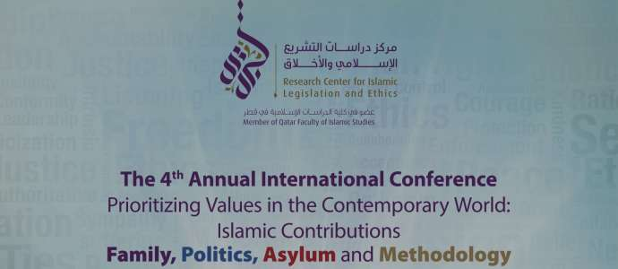#CILE2016 Prioritizing Values in the Contemporary World: Islamic Contributions