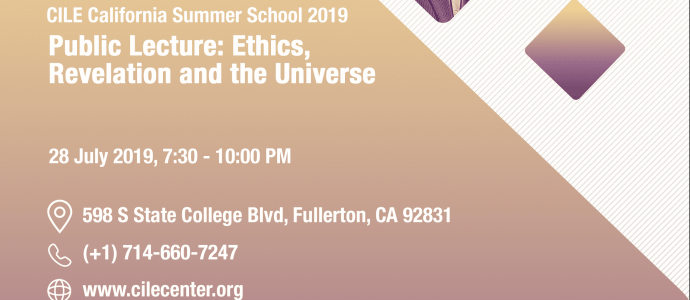 07/2019 Ethics, Revelation and the Universe