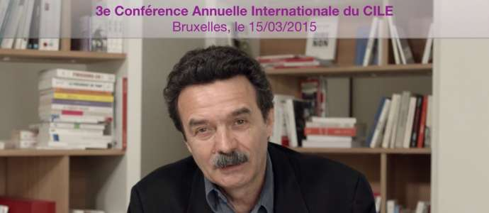 "3e Conférence Annuelle Internationale: Edwy Plenel ""Nos causes communes"""