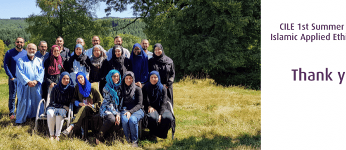 CILE 1st Summer School on Islamic Applied Ethics in France: Thank you !
