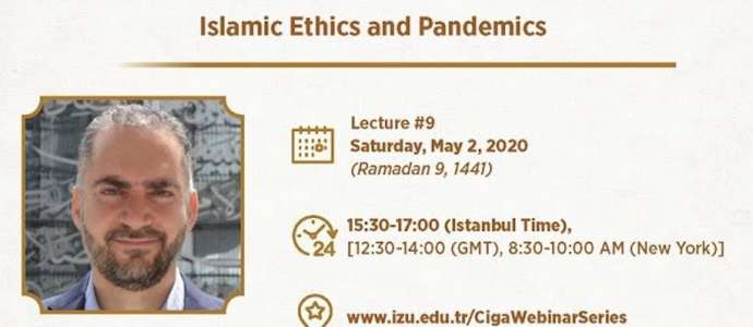 Embedded thumbnail for Ramadan Webinar Series - Islamic Ethics and Pandemics by Dr Mu'taz Al Khatib