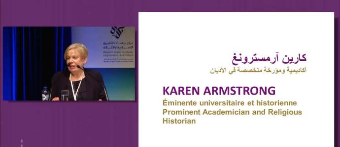 "Embedded thumbnail for Karen Armstrong: ""The Significance of Hijrah"" CILE 3rd Annual International Conference"