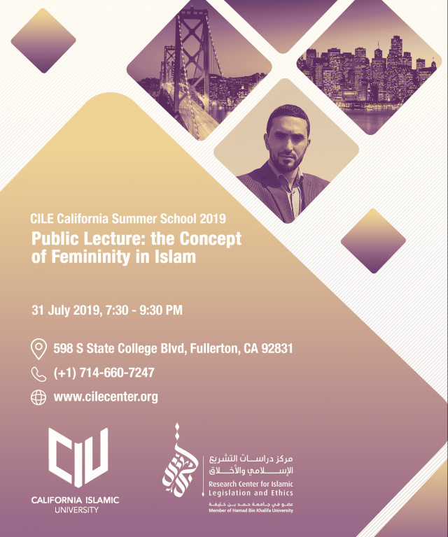 07/2019 The Concept of Femininity in Islam