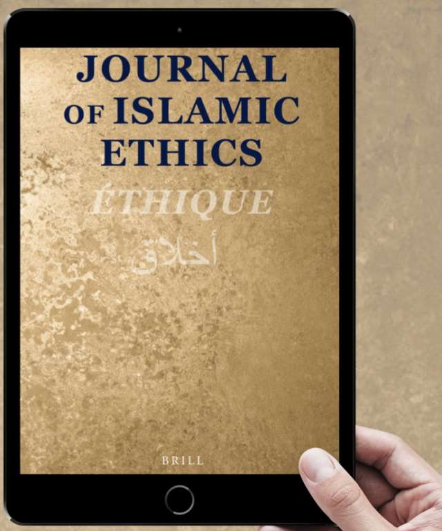 "Volume 4 of ""Journal of Islamic Ethics"" Virtue and Manliness in Islamic Ethics"