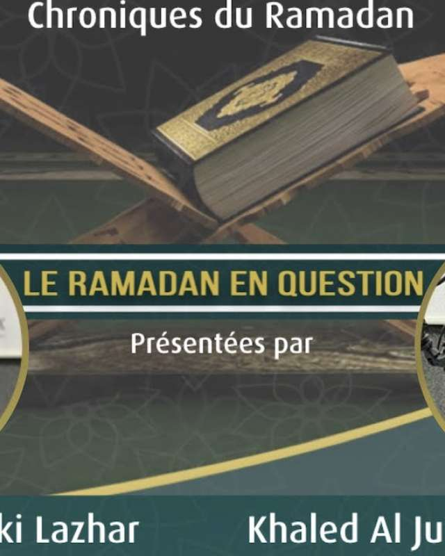 "Embedded thumbnail for Podcast Le Ramadan en questions ""L'adoration en Islam 1/2"" Épisode 2 par Chauki Lazhar"